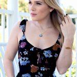 Athena Designs Flower Dress & Bracelet